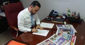 El alcalde de Villalba Luis Javier Hernández Ortiz.