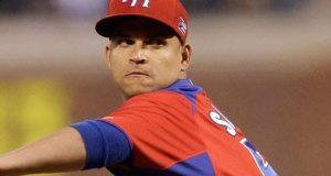 El lanzador Mario Santiago ha formado parte del equipo de Puerto Rico en varios torneos internacionales.