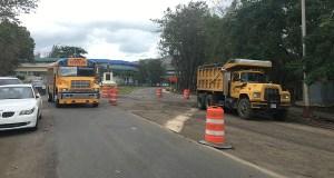 Intersección de la PR-149 con la 589 en Villalba. (Voces del Sur)