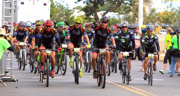 Más de 1,600 ciclistas de todas partes de Puerto Rico recorrieron varios municipios de la región Sur como parte del Med Bike Rally.