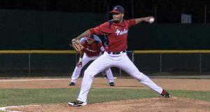 El lanzador Bryan López inició el partido por los Petroleros de Peñuelas.