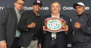 """Alberto """"Explosivo"""" Machado y Juan José """"Piquet"""" Martínez se enfrentarán por el campeonato súper pluma de la NABO el 1 de abril en Ponce."""