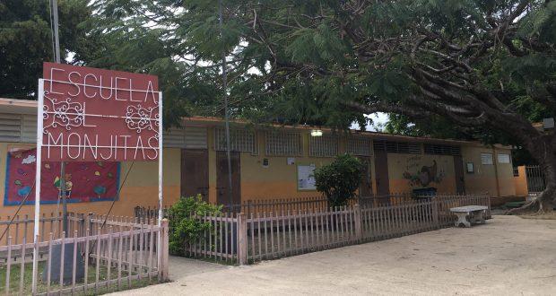 Escuela Las Monjitas en Ponce.