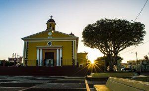 Plaza pública de Sabana Grande. (Facebook / Municipio de Sabana Grande)
