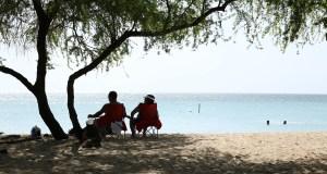 Día de playa en Combate, Cabo Rojo. (Voces del Sur)