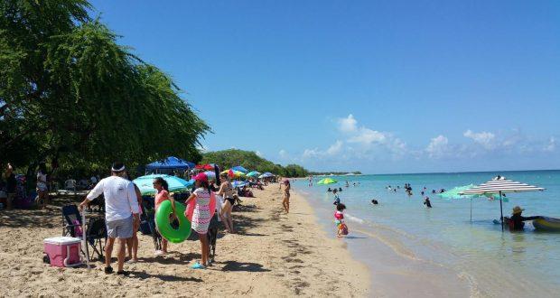Los turistas aprovecharon las hermosas playas de la región Suroeste. (Suministrada)