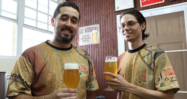 Luis Esteban Rodríguez Lugo y Armando Rodríguez Oquendo son los creadores de Señorial Brewing. (Voces del Sur)