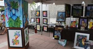 Decenas de pintores, grabadores y escultores expusieron sus obras en ParguerARTE. (Voces del Sur)