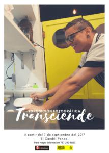 Afiche de la muestra fotográfica TRANSciende.