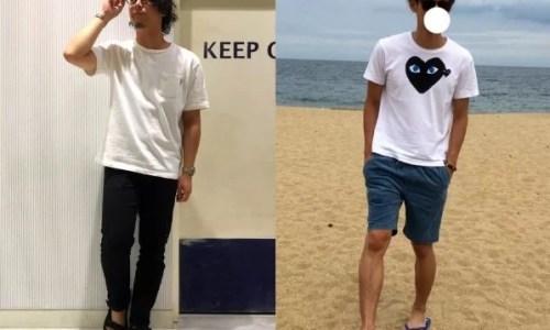 高校生,ファッション,男子,夏,画像