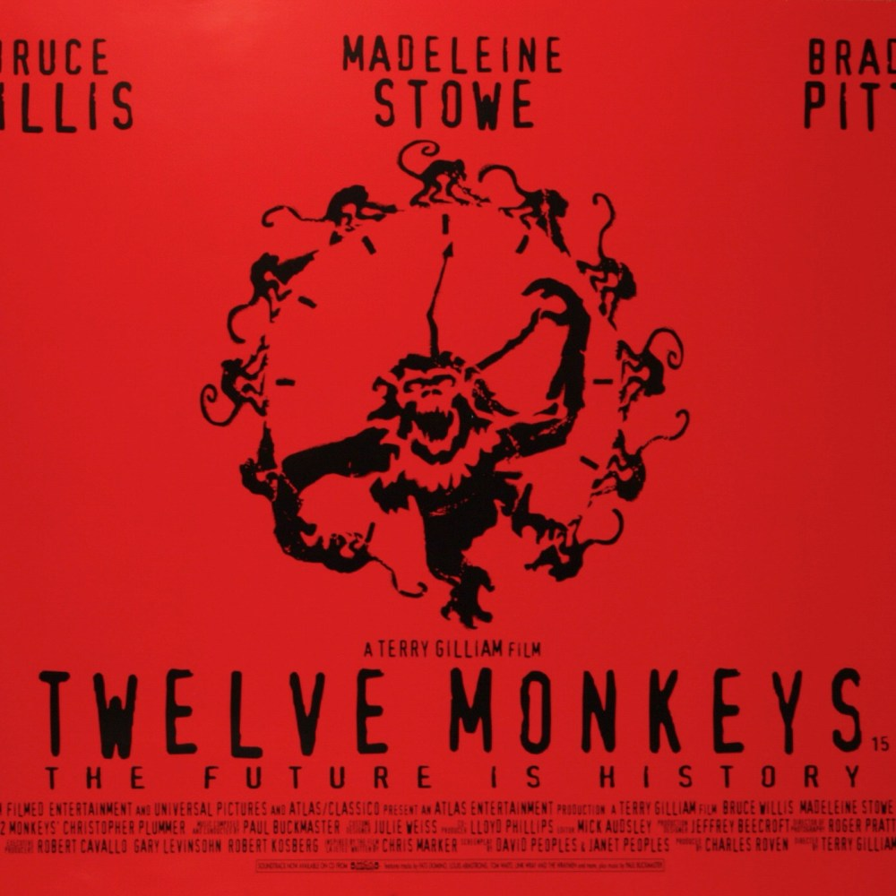 "Terry Gilliam's "" Twelve Monkeys"", 1996 Documentary: ""The Hamster Factor"" (10 Parts)   Video"