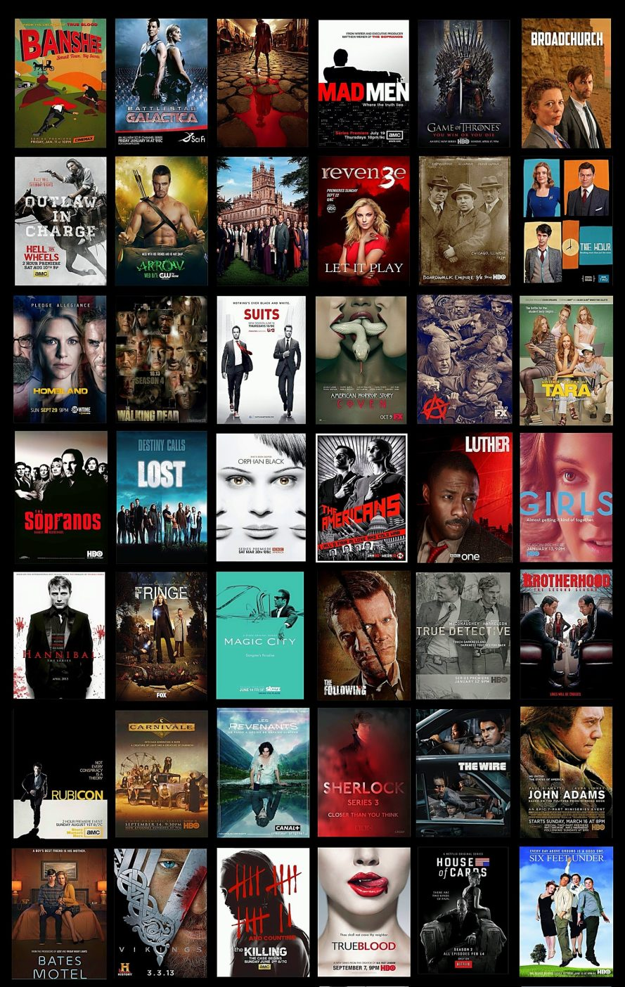 VoicesFILM The TV Series List