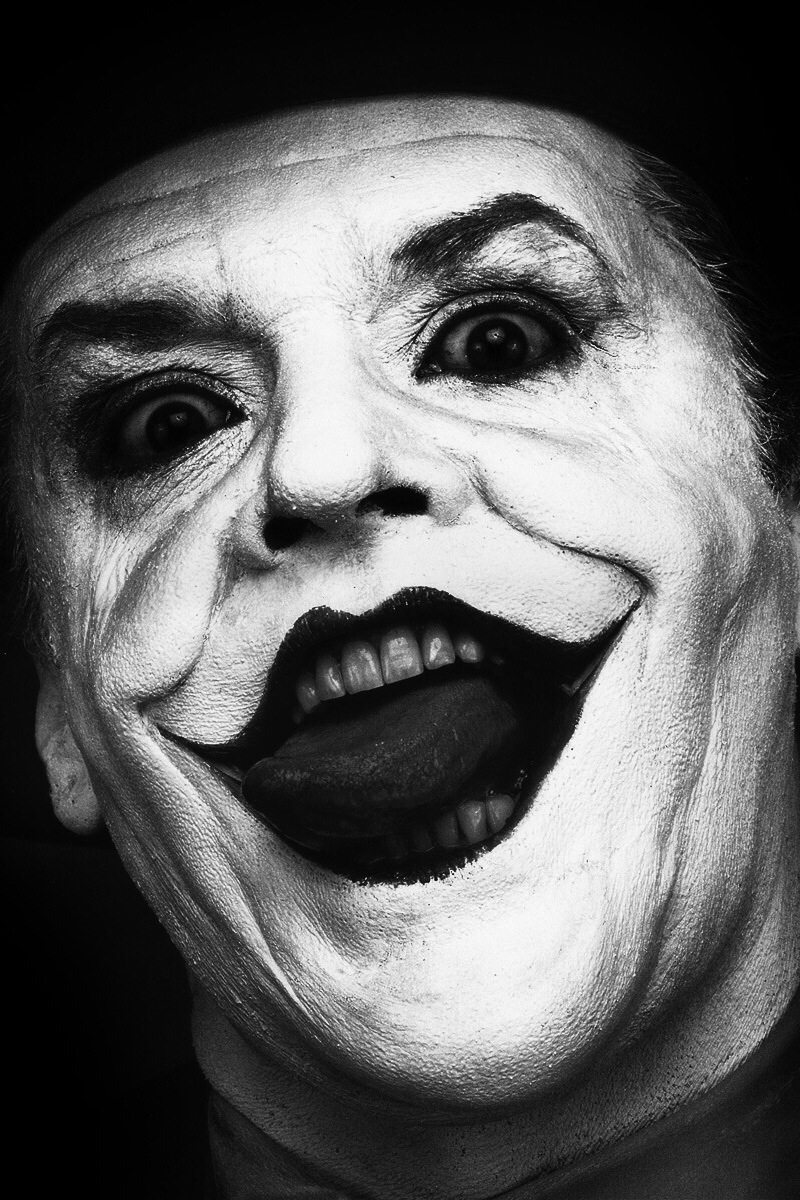 Jack Nicholson  As   The Joker  Photos By Herb Ritts