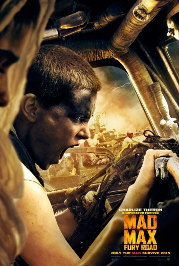 "Tom Hardy And Charlize Theron In George Miller's ""Fury Road"" 