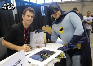Kevin Conroy with Batman