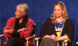 Susan Eisenberg and Andrea romano