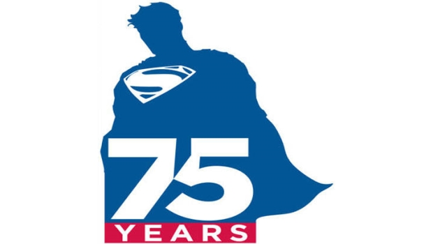 Superman 75 - Logo