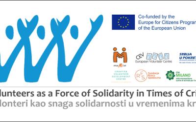Međunarodno istraživanje o stavovima o kriznom volontiranju tijekom pandemije
