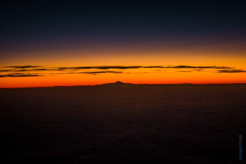 Закат в Азербайджане