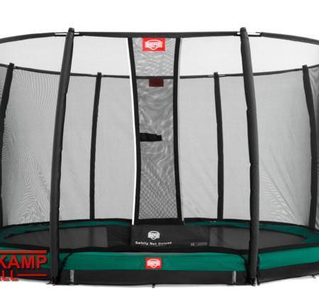 BERG InGround Favorit + Safety Net Deluxe 2015