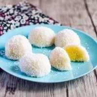 Perles de coco (ou boules de coco) asiatiques - 椰蓉糯米糍