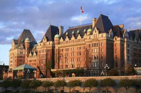 Empress Hotel.  The Grand Dame of Victoria British Columbia
