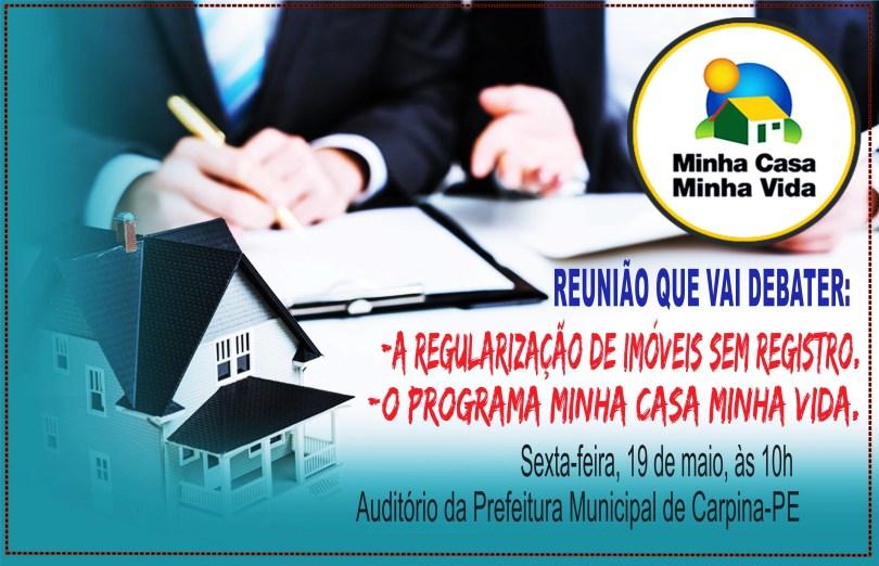 ORIGINAL MINHA CASA MINHA VIDA 19 MAIO