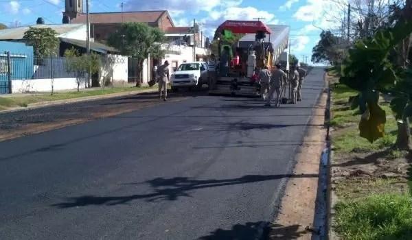 Doce nuevas cuadras pavimentadas en Barrio Pompeya de la Ciudad de Concordia