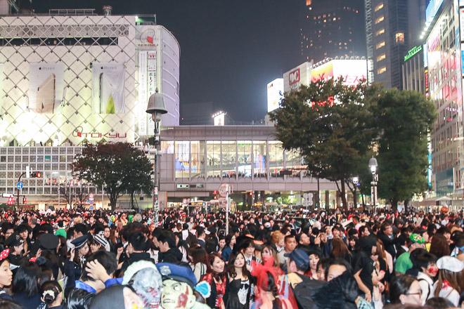 渋谷ハロウィン1