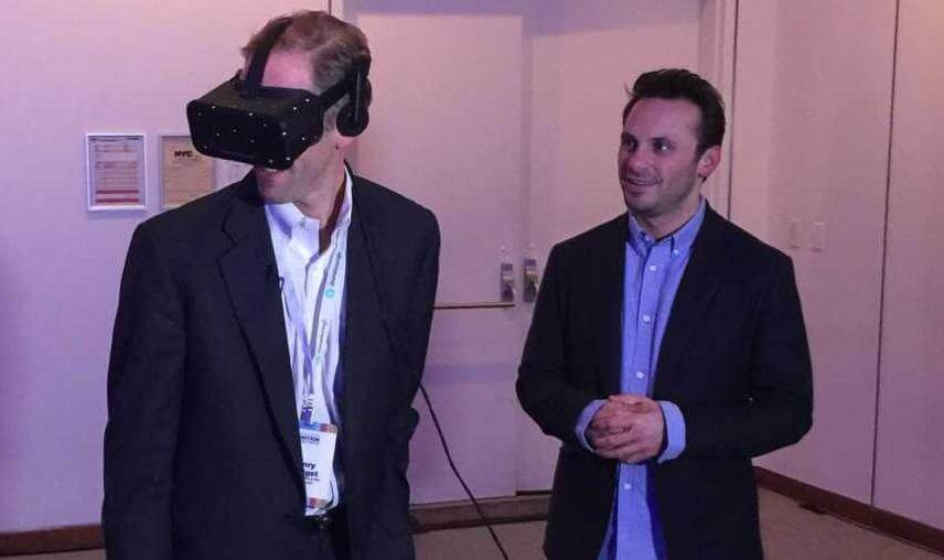 oculus rift or htc vive for business
