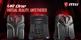 MSI VR One Backpack PC Product