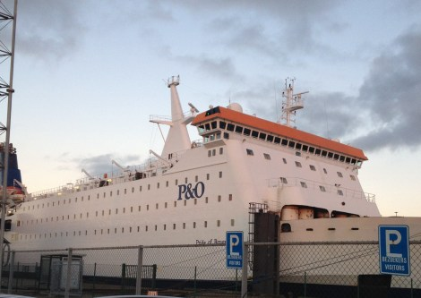 ferry zeebrugge naar hull