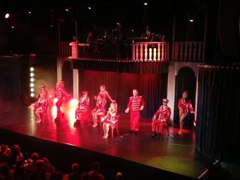 Witte Paard revue show Blankenberge