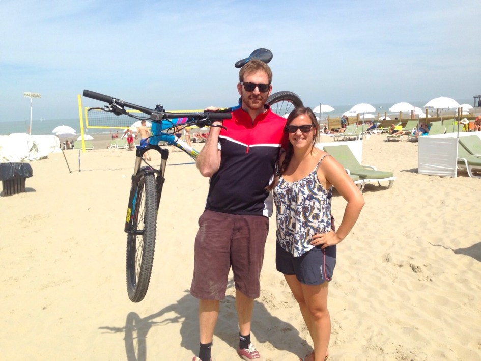 Met de fiets van Gent naar de kust