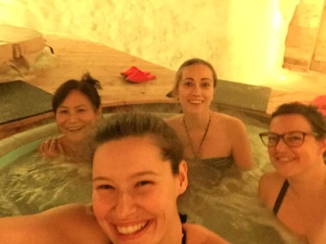 hot tub lapland zweden