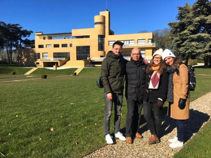 Villa Cavrois met de familie