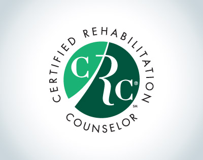 Certified Rehabilitation Counselor logo seal