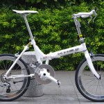 KHS / F-20RA  White  Light Weight Alumi Frame