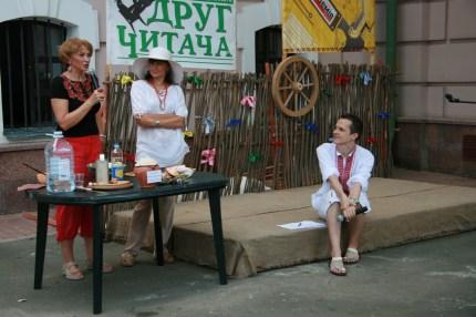 Олексій Ананов з Радіо Ера вивідує у Ірен Роздобудько таємницю літературного кулешу