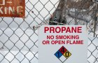 New legislation under consideration in Montpelier could prohibit minimum usage fees being charged by some propane dealers. Photo by Josh Larkin.