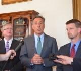 Shumlin, legislative leaders: No new tax package necessary, budget to get $10 million scrubbing