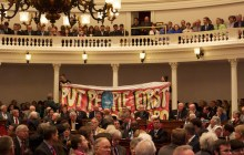 Demonstrators removed from House chamber