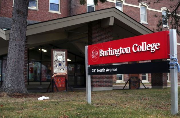 Police investigating break-in at former Burlington College building