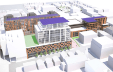 Burlington Town Center developer says hospital may rent offices