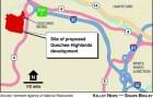 Quechee Highlands map