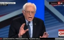 Sanders, Clinton spar over progressive street cred in CNN forum