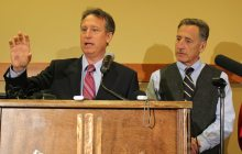 Michael Goldberg, Gov. Peter Shumlin