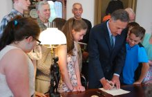 'Important historic' turnip legislation gets governor's signature