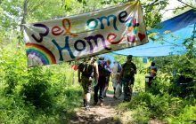 Officials: Rainbow Family members cleaning forest area