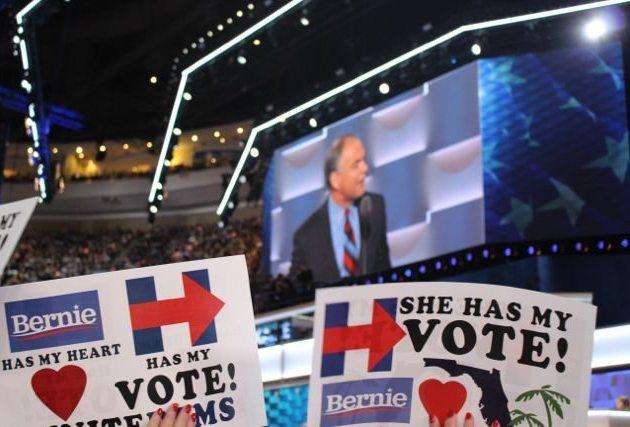 Obama boosts Clinton, 'feels the Bern'